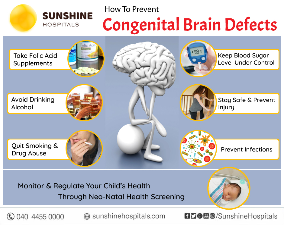 How To Prevent Congenital Brain Defects