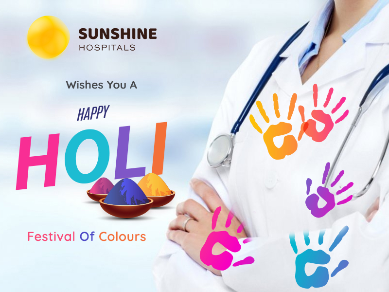May this Holi bring Splashes Of Love, Happiness And Good Health In Your Life.