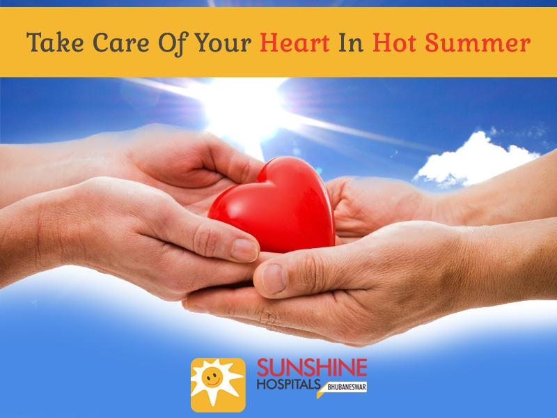 Take Care Of Your Heart In Hot Summer