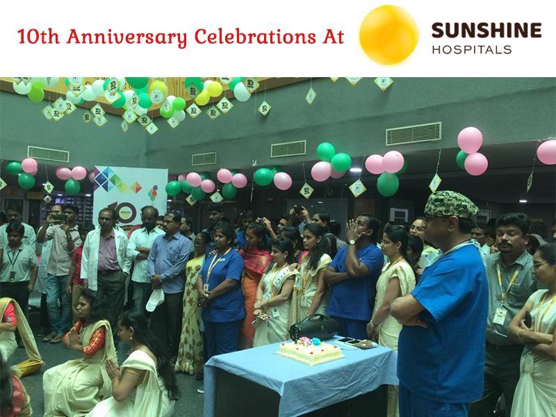 10th Anniversary Celebrations At Sunshine Hospitals