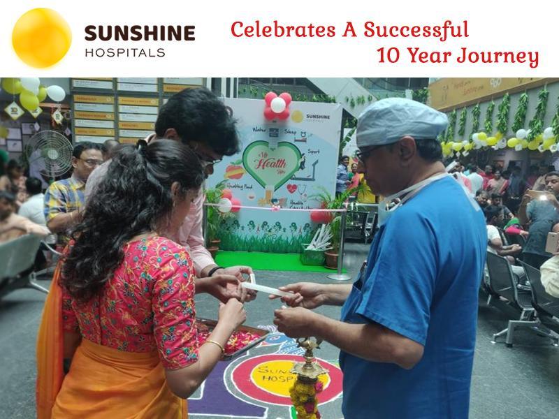 Sunshine Hospitals Celebrates A Successful 10 Year Journey