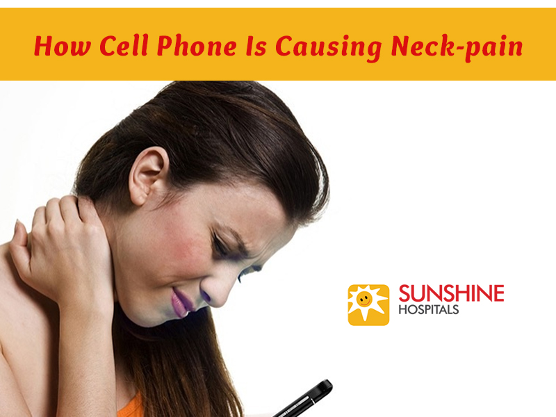 How Cell Phone Is Causing Neck-pain