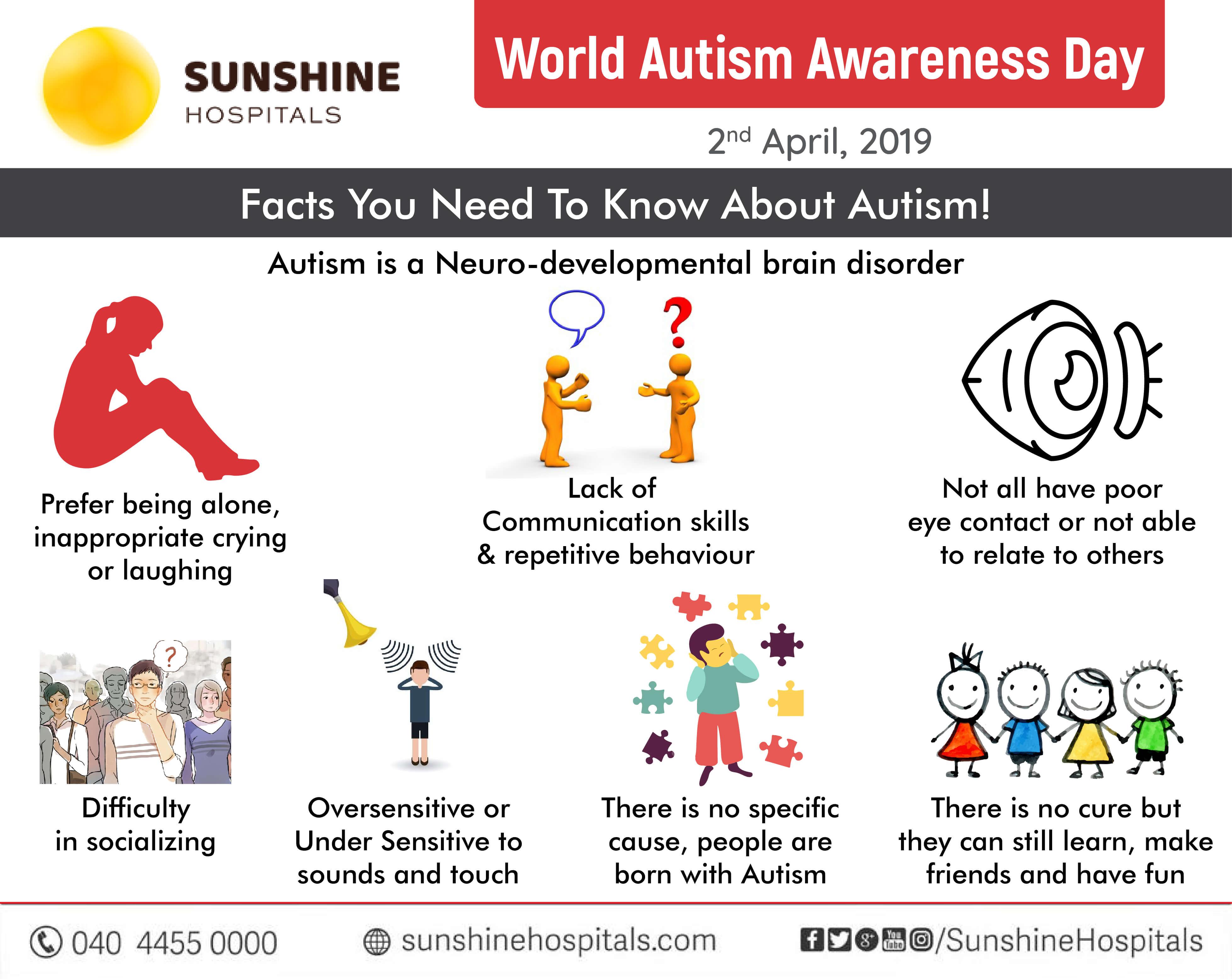 World Autism Awareness Day, 2nd April 2019