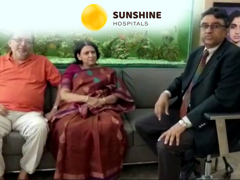 Mrs. Jaba Mukhopadhya (57) Underwent Bilateral Unicondylar Knee Replacement by Dr. Adarsh