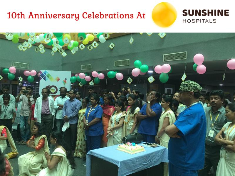 10th Anniversary Celebrations At Sunshine Hospitals