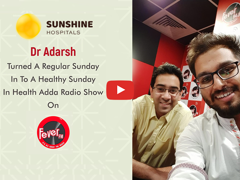 Dr Adarsh Talks On Arthritis & Partial Knee Replacement In Fever FM(94.3) Health Adda Radio Show