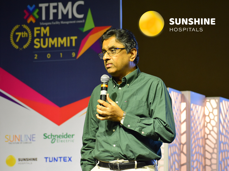 Sunshine Hospital, Proud to be Associated with 7th 'Facilities Management' National Summit of TFMC