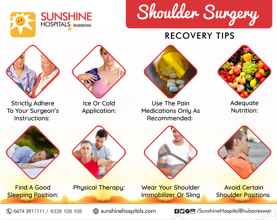 Shoulder Surgery Recovery Tips
