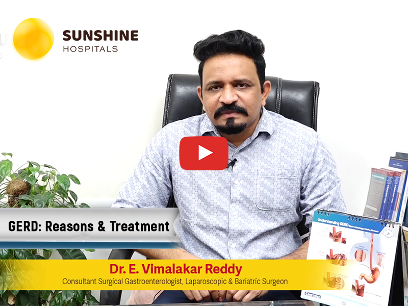 Watch Dr. Vimalakar Reddy Talking About Causes And Treatment Of GERD(Telugu)