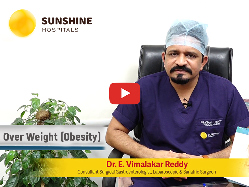 Watch Dr. Vimalakar Reddy Talks About Laparoscopic Surgeries For Obesity(Telugu)
