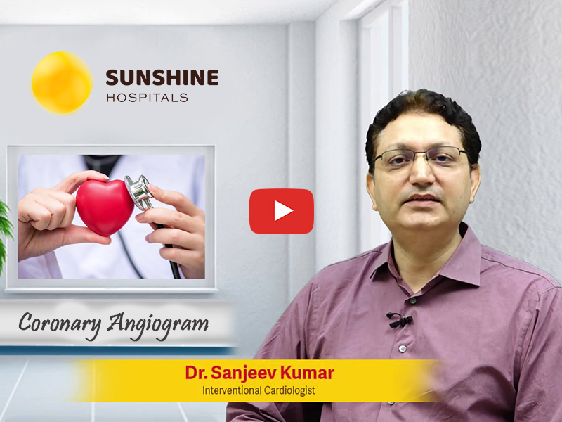 Dr Sanjeev Kumar,  Consultant Interventional Cardiologist talks about Coronary Angiogram