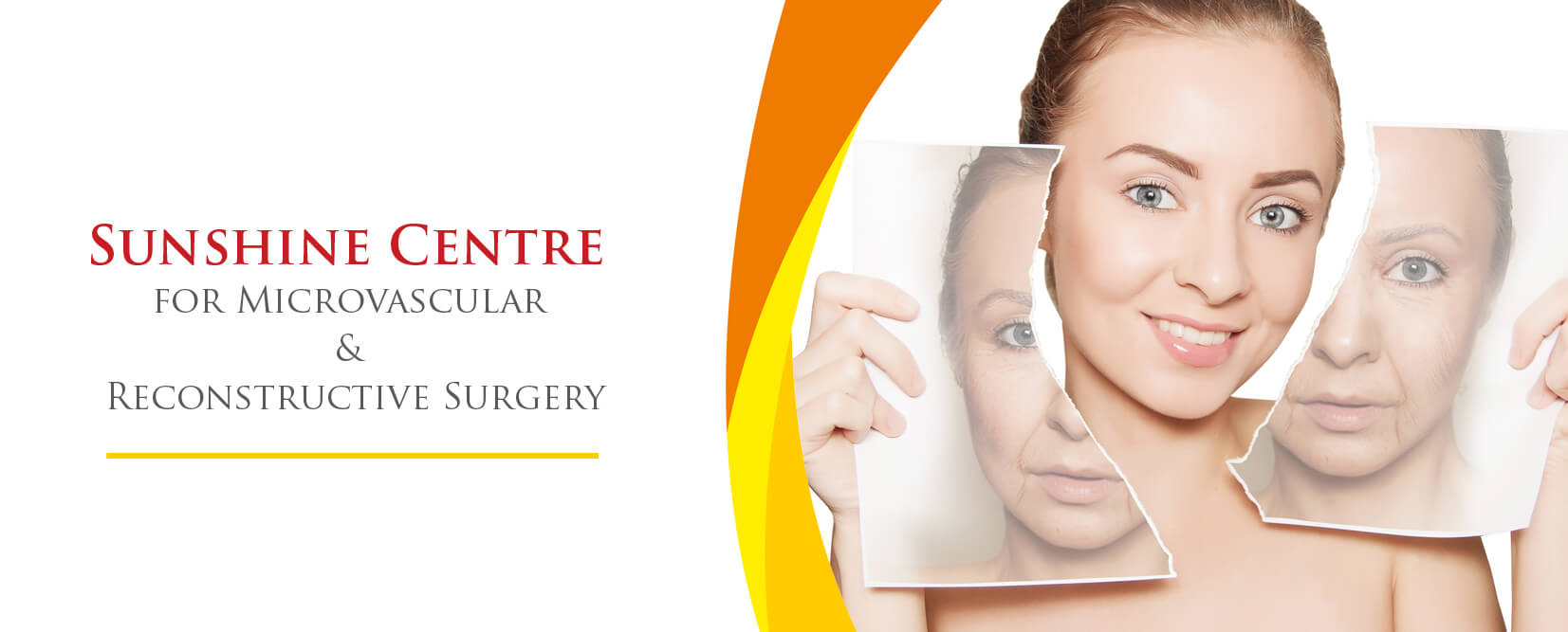 Sunshine Centre for Microvascular Reconstructive Surgery Banner.