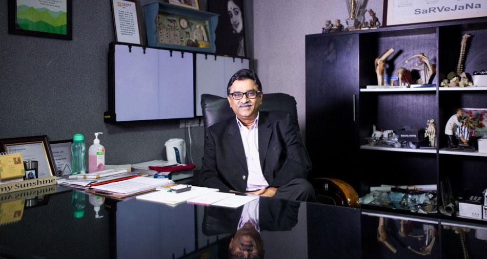 Chairman Dr. Gurava Reddy