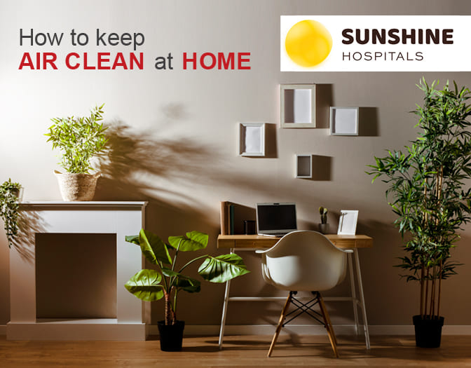 How to keep air clean at home