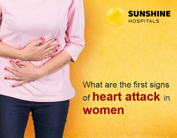 Signs of Heart attack in women