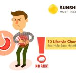 10 Lifestyle Changes that Help Ease Heartburn