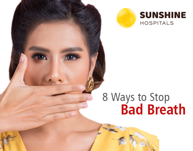 How to stop bad breath